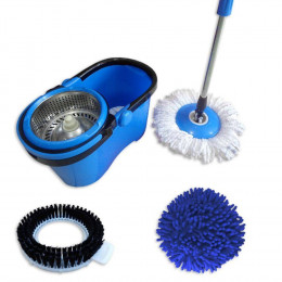PERFECT MOP 360 CESTO INOX 3 REFIS